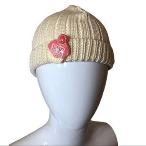 Girls Juicy Couture Cupcake Couture Beanie Hat